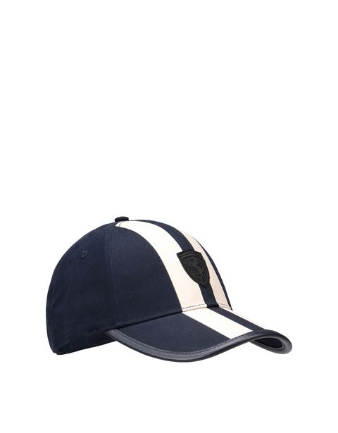 Men's silkscreen printed cap with visor