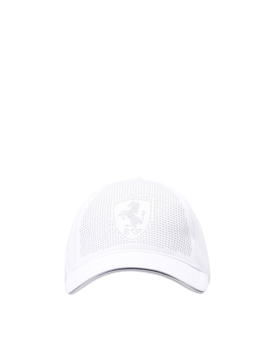 Scuderia Ferrari Online Store - Women's cap with visor and rhinestones - Baseball Caps