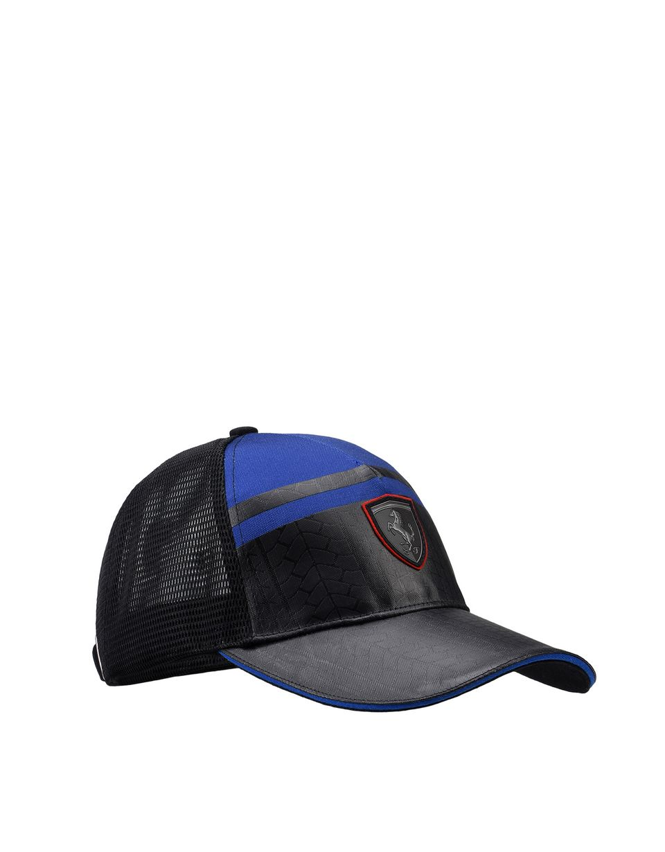 Scuderia Ferrari Online Store - Men's printed cap with visor - Baseball Caps