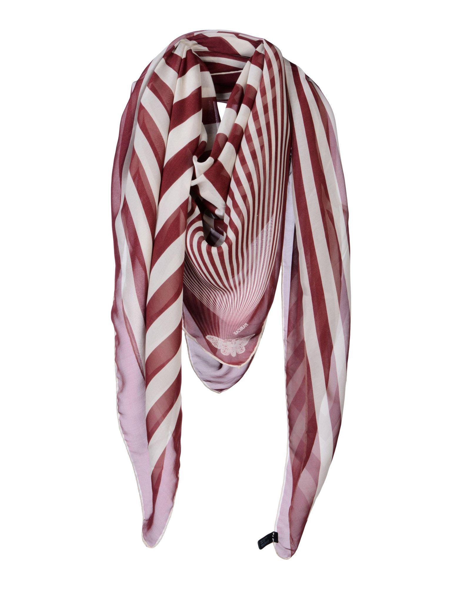 PARCAE Платок платок в полоску флуоресцентный