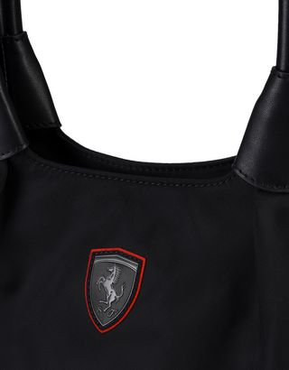 Scuderia Ferrari Online Store - Convertible casual bag with Ferrari Shield - Tote Bags