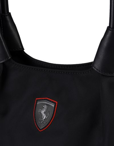 Scuderia Ferrari Online Store - Convertible casual bag with Ferrari Shield - Tote Bags