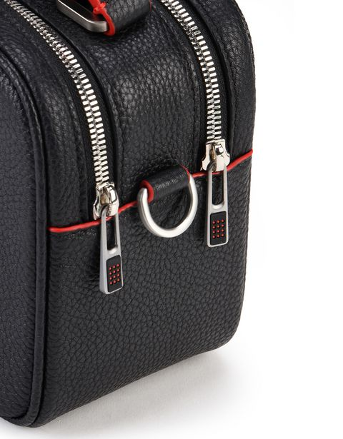 Scuderia Ferrari Online Store - Women's bag in hammered calfskin leather -