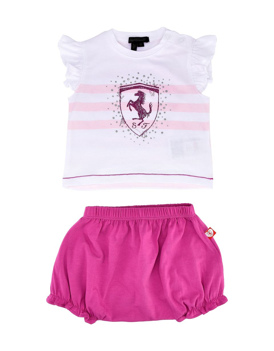 Scuderia Ferrari Online Store - Baby stretch jersey outfit - Baby & Kids Sets