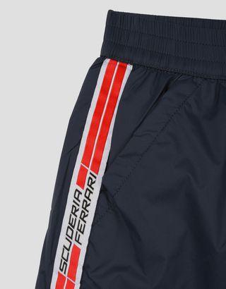 Scuderia Ferrari Online Store - Boys swimsuit with Scuderia Ferrari Icon Tape -