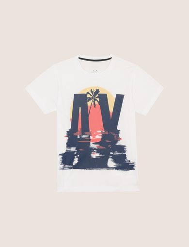 BOYS SUNSET BEACHSCAPE TEE