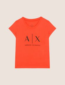 ARMANI EXCHANGE GIRLS CLASSIC LOGO TEE Logo T-shirt Woman f