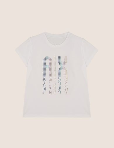 GIRLS RAINBOW STUD TEE