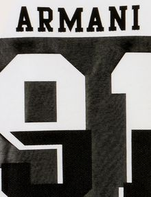 ARMANI EXCHANGE BOYS VARSITY 91 TEE Logo T-shirt Man d