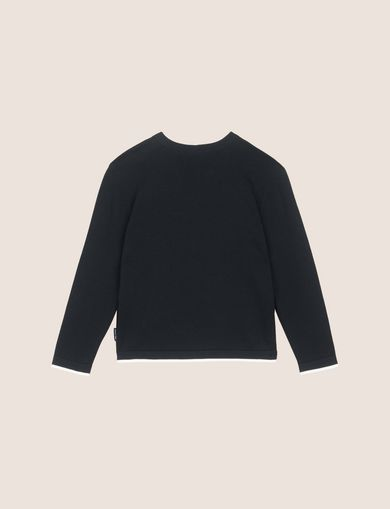 BOYS TONAL LOGO CREWNECK SWEATER