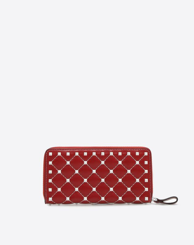 741a3355c2 Free Rockstud Spike Continental Wallet for Woman | Valentino Online Boutique