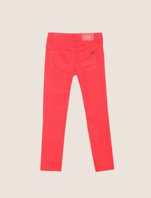 ARMANI EXCHANGE GIRLS COLORFUL CROPPED SUPER-SKINNY JEANS Skinny jeans Woman r