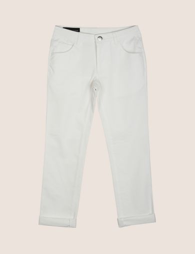 BOYS CLASSIC SLIM-FIT TWILL PANTS