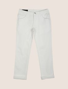 ARMANI EXCHANGE BOYS CLASSIC SLIM-FIT TWILL PANTS Trouser Man f