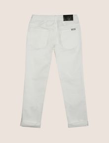 ARMANI EXCHANGE BOYS CLASSIC SLIM-FIT TWILL PANTS Trouser Man r