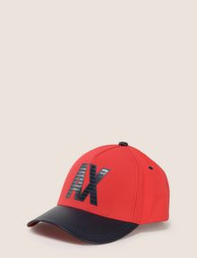 ARMANI EXCHANGE MINI LOGO COLORBLOCK HAT Hat Man f