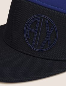ARMANI EXCHANGE COLORBLOCKED CIRCLE LOGO HAT Hat Man d
