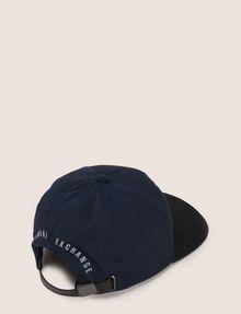 ARMANI EXCHANGE SKYLINE OVERLAY LOGO HAT Hat Man r