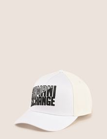 ARMANI EXCHANGE SHADED LOGO MESH HAT Hat Man f