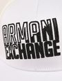 ARMANI EXCHANGE SHADED LOGO MESH HAT Hat [*** pickupInStoreShippingNotGuaranteed_info ***] d