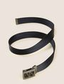 ARMANI EXCHANGE CANVAS UTILITY BUCKLE BELT Belt Man r