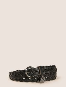 ARMANI EXCHANGE WOVEN SKINNY BELT Belt Woman f