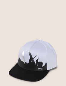ARMANI EXCHANGE SKYLINE OVERLAY LOGO HAT Hat Man f