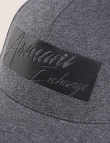 ARMANI EXCHANGE CUTOUT LOGO HAT Hat Man d