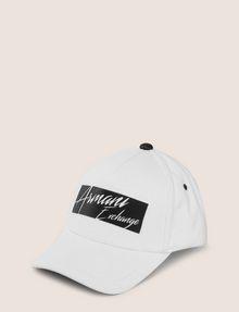 ARMANI EXCHANGE CUTOUT LOGO HAT Hat Man f