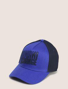 ARMANI EXCHANGE SHADED LOGO MESH HAT Hat Man f