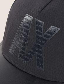 ARMANI EXCHANGE MINI LOGO COLORBLOCK HAT Hat Man d