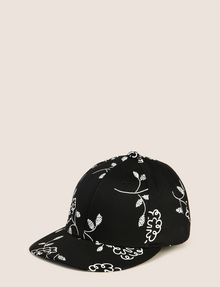 ARMANI EXCHANGE SQUIGGLE FLORAL PRINT HAT Hat Woman f