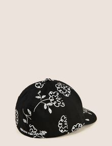 ARMANI EXCHANGE SQUIGGLE FLORAL PRINT HAT Hat Woman r