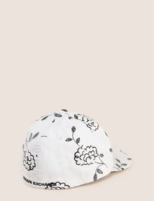 ARMANI EXCHANGE SQUIGGLE FLORAL PRINT HAT Hat [*** pickupInStoreShipping_info ***] r