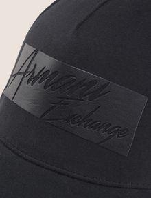 ARMANI EXCHANGE CUTOUT LOGO HAT Hat Man d