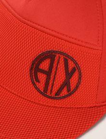ARMANI EXCHANGE COLORBLOCKED CIRCLE LOGO HAT Hat Man d