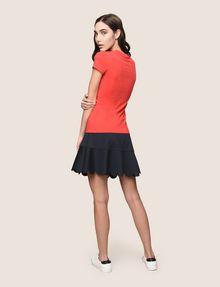 ARMANI EXCHANGE GLITTER TAPE LOGO TEE Logo T-shirt Woman e