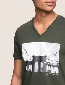 ARMANI EXCHANGE BRIDGESCAPE LOGO TEE Logo T-shirt Man b