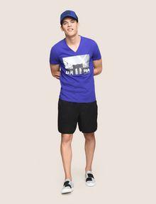 ARMANI EXCHANGE BRIDGESCAPE LOGO TEE Logo T-shirt Man d