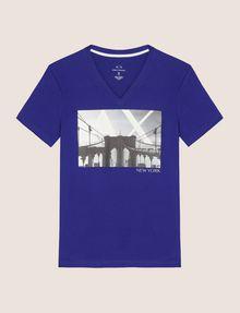 ARMANI EXCHANGE BRIDGESCAPE LOGO TEE Logo T-shirt Man r