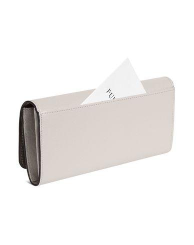 Фото 2 - Бумажник цвет голубиный серый