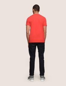 ARMANI EXCHANGE TONAL SHINE PRINT V-NECK Logo T-shirt Man e