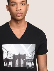 ARMANI EXCHANGE BRIDGESCAPE LOGO TEE Logo T-shirt Man b