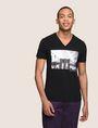 ARMANI EXCHANGE BRIDGESCAPE LOGO TEE Logo T-shirt Man f