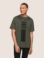 ARMANI EXCHANGE PLACED PRINT RELAXED TEE Logo T-shirt Man f
