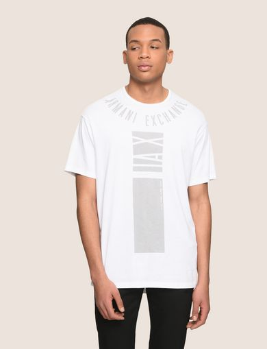 PLACED PRINT RELAXED TEE