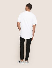 ARMANI EXCHANGE PLACED PRINT RELAXED TEE Logo T-shirt Man e