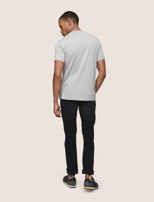 ARMANI EXCHANGE MINIMAL FOIL LINES TEE Logo T-shirt Man e