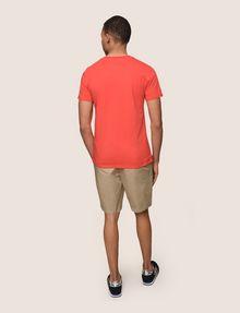 ARMANI EXCHANGE PAINTED LINES LOGO TEE Logo T-shirt Man e