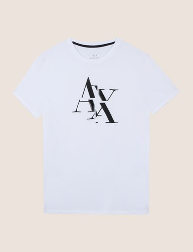 FRAGMENTED TYPEWRITER LOGO TEE